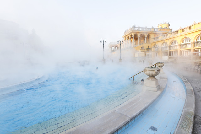 Hungary Budapest thermal baths Gellert Hotel momente shutterstock_367920347