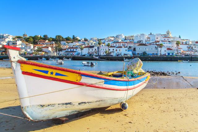 Portugal Algarve Portimão harbor fishing boat Marcin Krzyzak shutterstock_271150100