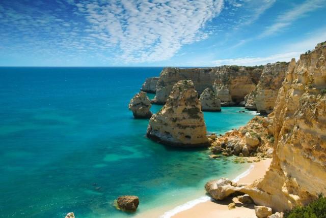 Portugal Algarve Praia da Marinha Beach Ricard12 Wikipedia