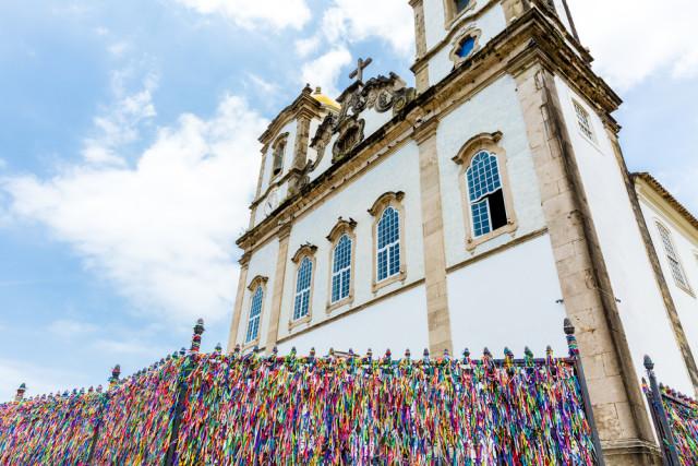 Salvador Bonfim Church  Filipe Frazao shutterstock_233651194
