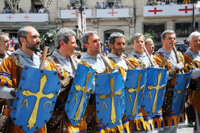Spain Alicante Alcoy Moors and Christians - Christian contingent rSnapshotPhotos shutterstock_94641463