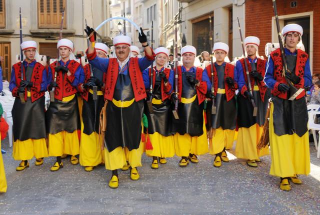 Spain Alicante Alcoy Moors and Christians - Moorish contingent rSnapshotPhotos shutterstock_93101611
