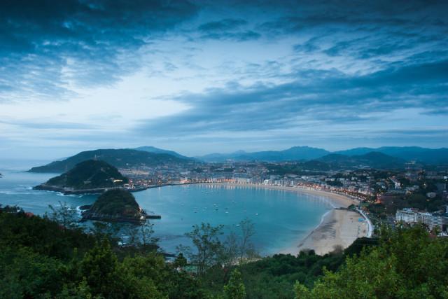 Spain Basque Country San Sebastián classic overview Anna Morgan shutterstock_153717551