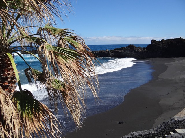 Spain Canary Islands La Palma beach Pixabay