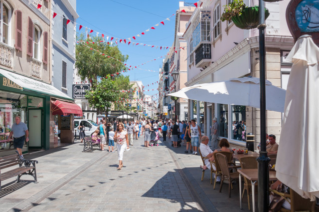 Gibraltar main street mkos83 shutterstock_283017338