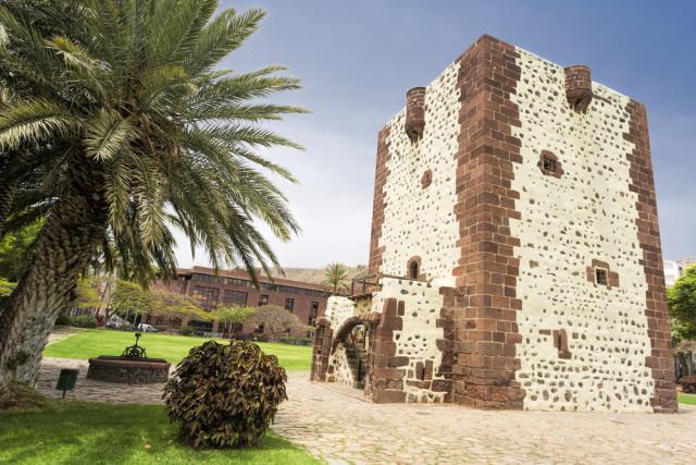 Spain Canary Islands La Gomera Torre del Conde haraldmuc shutterstock_280371536