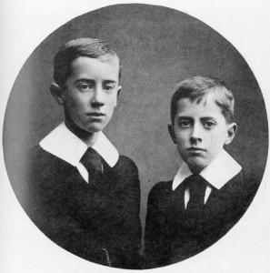 UK Birmingham Tolkien Ronald and Hilary as children www.tolkiengateway.net Wikipedia