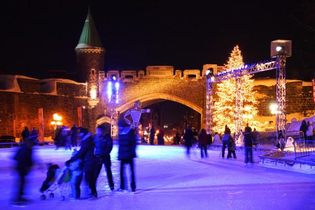 Canada Quebec City Winter Carnival Maridav shutterstock_24197320