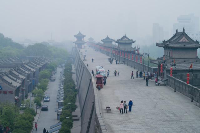 China Xi'an city wall Tappasan Phurisamrit shutterstock_114629125