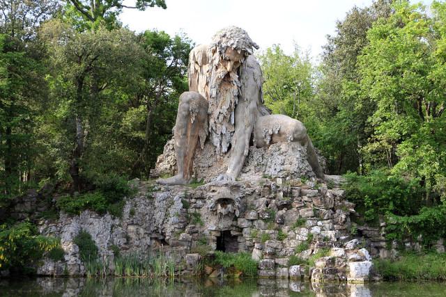 Italy Florence Pratolino Park Giambologna Giant of the Appenines Sailko Wikipedia