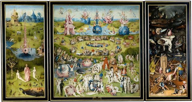 Spain Madrid Prado Bosch Garden of Earthly Delights painting art