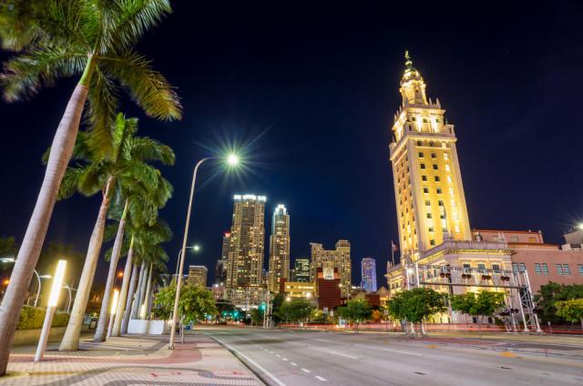 Florida Miami mainland Freedom Tower f11photo shutterstock_210651820