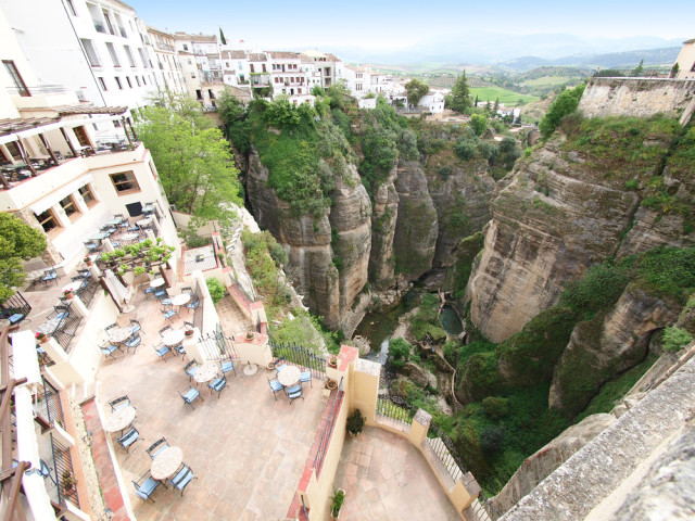 Spain Andalusia Ronda view from up top silky shutterstock_88304572