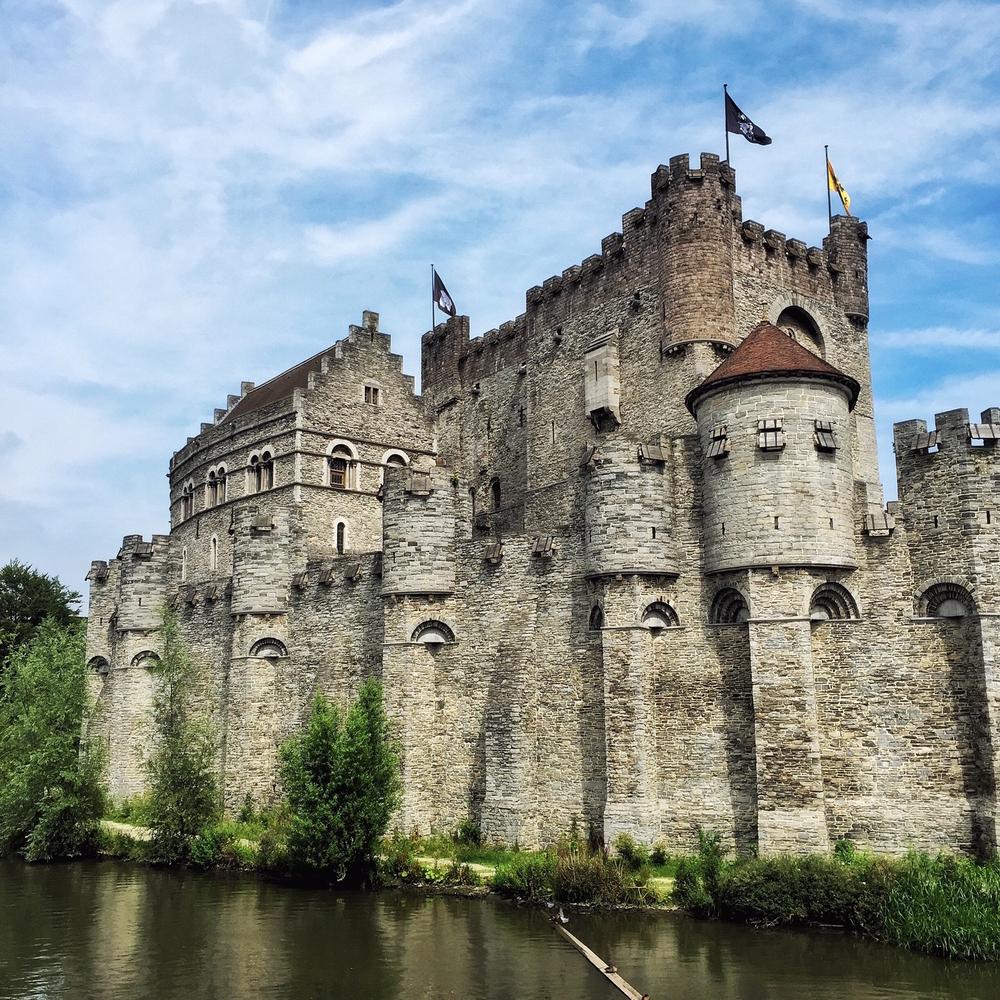Belgium Ghent Granvensteen castle John Frutiger shutterstock_347376479