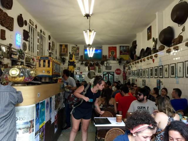 Brazil Rio de Janeiro Santa Teresa Bar do Mineiro DPA