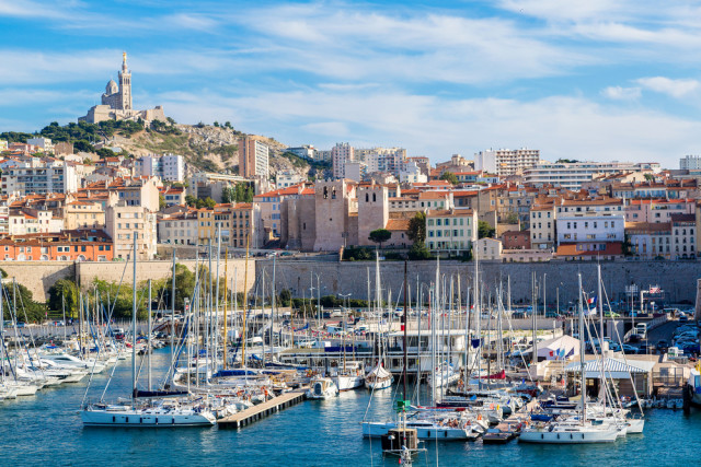 France Marseille overview-skyline S-F shutterstock_263444672
