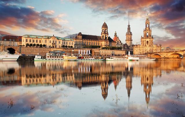 Germany Dresden Altstadt panorama TTstudio shutterstock_336492917