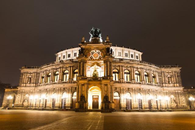 Germany Dresden Semperoper Semper Opera House Andrey_Popov shutterstock_266589947