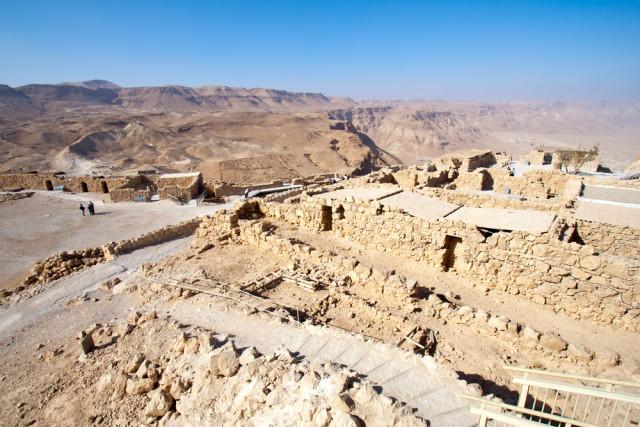 Israel Masada ruins VanderWolf Images shutterstock_75634792