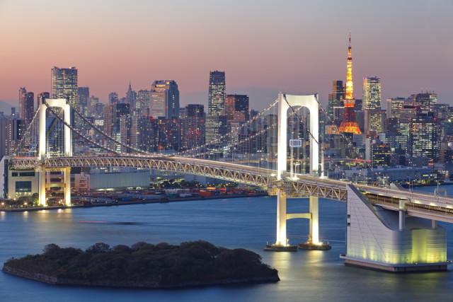 Japan Tokyo Rainbow Suspension Bridge Sakarin Sawasdinaka shutterstock_164170640