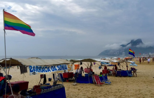 Latin America gay Rio de Janeiro Ipanema beach Brazil