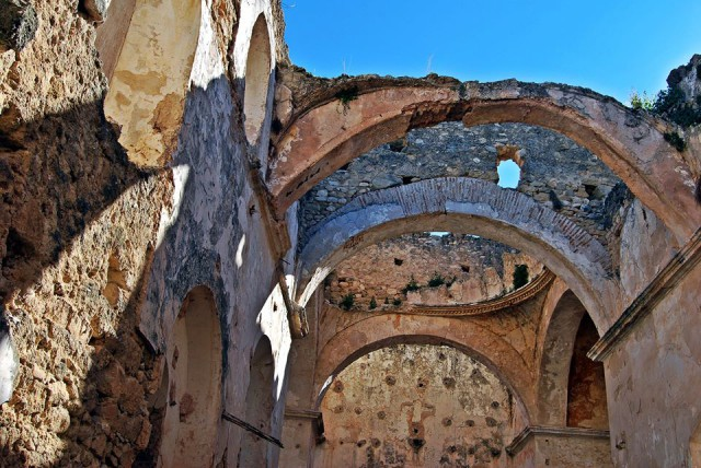 Spain Andalusia Camino Mozarabe ruined convent
