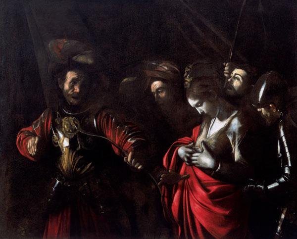 Spain Madrid Thyssen Bornemisza Caravaggio Martyrdom of St Ursula Wikipedia WGA