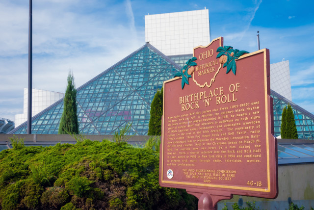 USA Ohio Cleveland Rock and Roll Hall of Fame Allen.G shutterstock_281750147