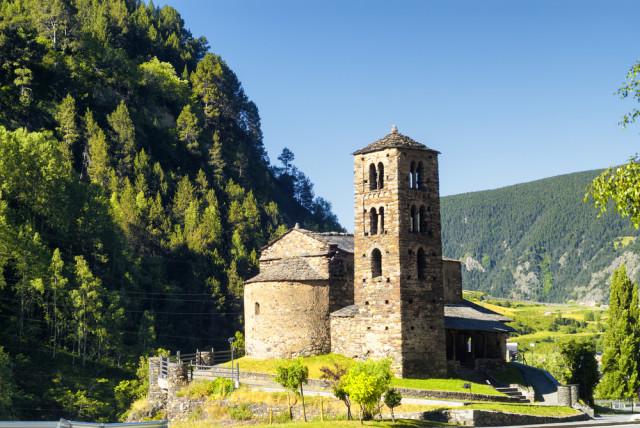 Andorra Canillo Sant Joan de Caselles church Claudio Giovanni Colombo shutterstock_380199787
