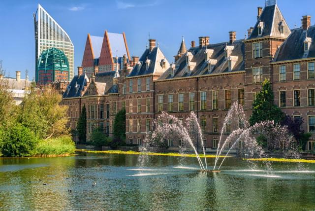 Netherlands Hague Binnenhof Boris Stroujko shutterstock_117497563