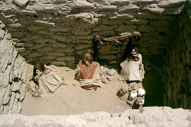 Peru Nazca Cauchilla Cemetery Colegota (el autor) Wikipedia