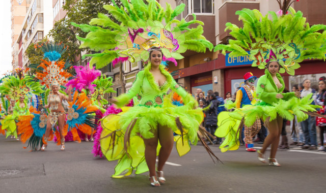 Spain Canary Islands Las Palmas de Gran Canaria Carnaval Tamara Kulikova shutterstock_393632098