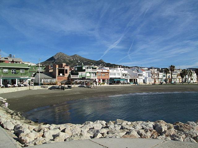 Spain Malaga Playa Pedregalejo Tyk Wikipedia