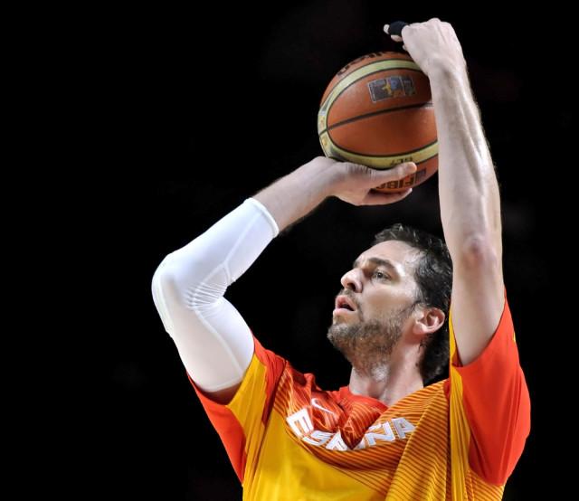 Spain sport basketball Pau Gasol Marcos Mesa Sam Wordley shutterstock_218102419