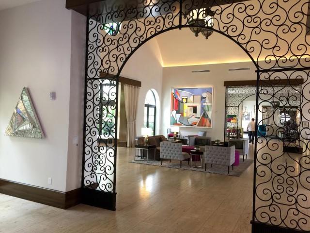 USA Florida Orlando Winter Park Alfond Inn lobby hotel hotels