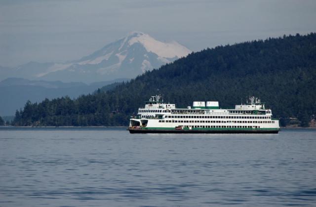 USA Washington Seattle Puget Sound ferry Eugene Kalenkovich shutterstock_48472528