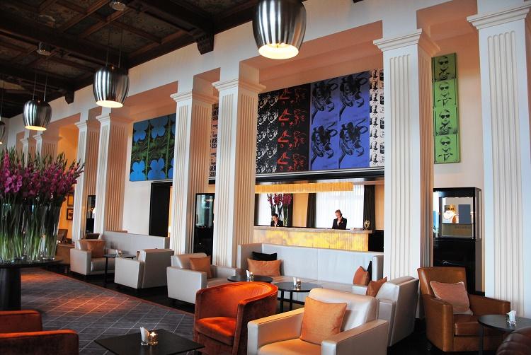 hotels art Switzerland Zurich Dolder Grand lobby