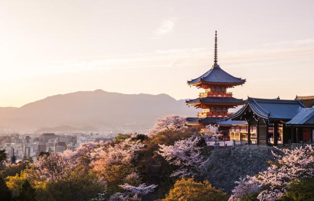 Kyoto Japan temple