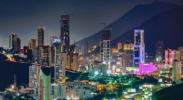 Mexico Monterrey central business district Rick Gonzalez Flickr