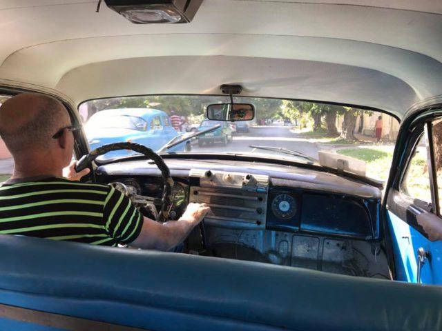 L2F Jan 17 pic Cuba Havana classic cars interior