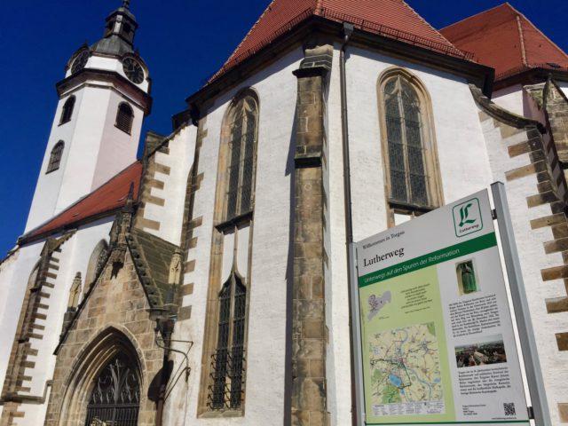 L2F Jan 17 pic Germany Martin Luther Torgau Marienkirche