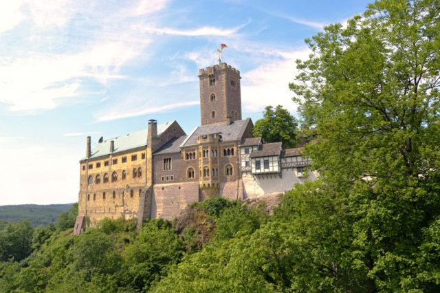 L2F Jan 17 pic Martin Luther Germany Eisenach Wartburg Castle shutterstock_512071846