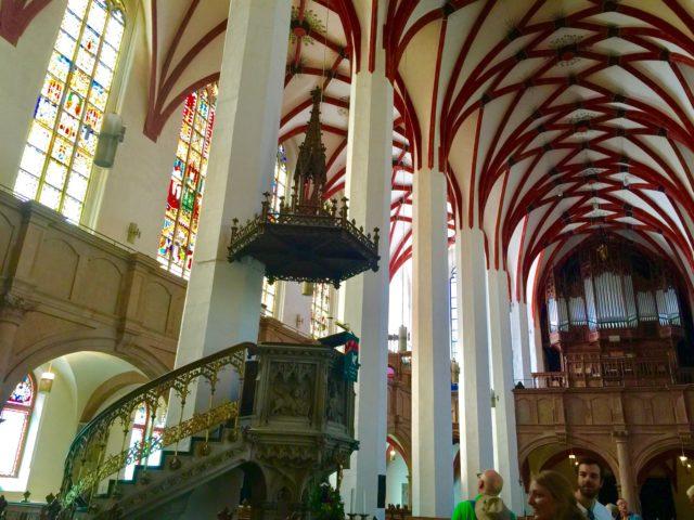 L2F Jan 17 pic Martin Luther Germany Leipzig Thomaskirche