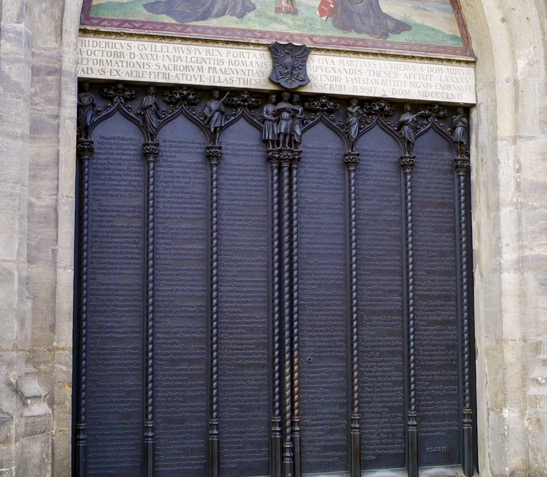 L2F Jan 17 pic Martin Luther Wittenberg doors cropped