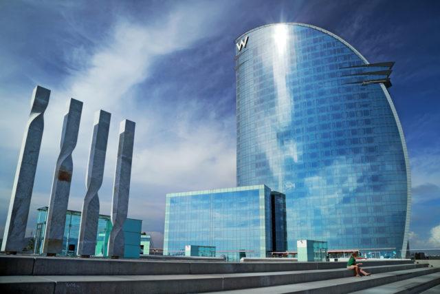 L2F Jan 17 pic Spain architects Bofill Barcelona W hotel shutterstock_410004229