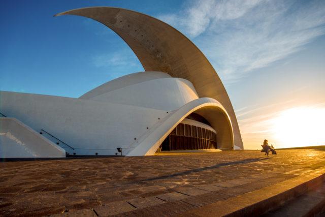 L2F Jan 17 pic Spain architects Calatrava Tenerife auditorio shutterstock_362463884