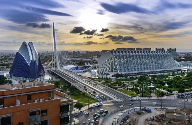 L2F Jan 17 pic Spain architects Calatrava Valencia City of Arts & Sciences shutterstock_175178075