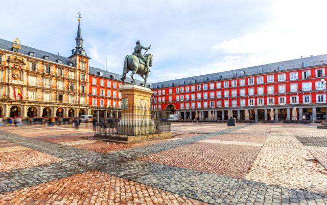 TBP pic Spain Madrid Plaza Mayor shutterstock_418709383