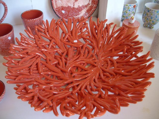 L2F Feb 17 pic Germany Bavaria Chiemsee Fraueninsel ceramics Inka