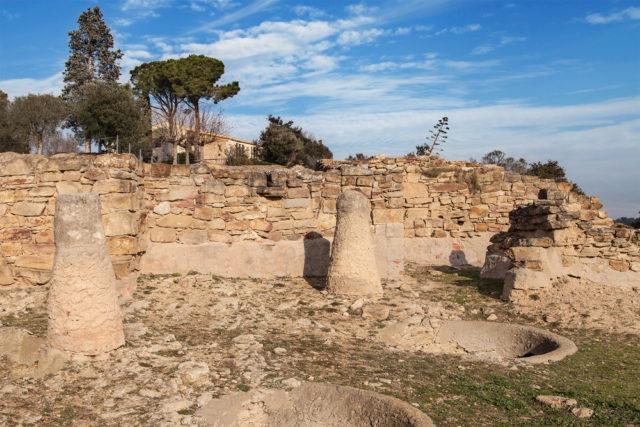L2F Jan 17 pic Spain Iberians Girona Ullastret ruins shutterstock_369056687